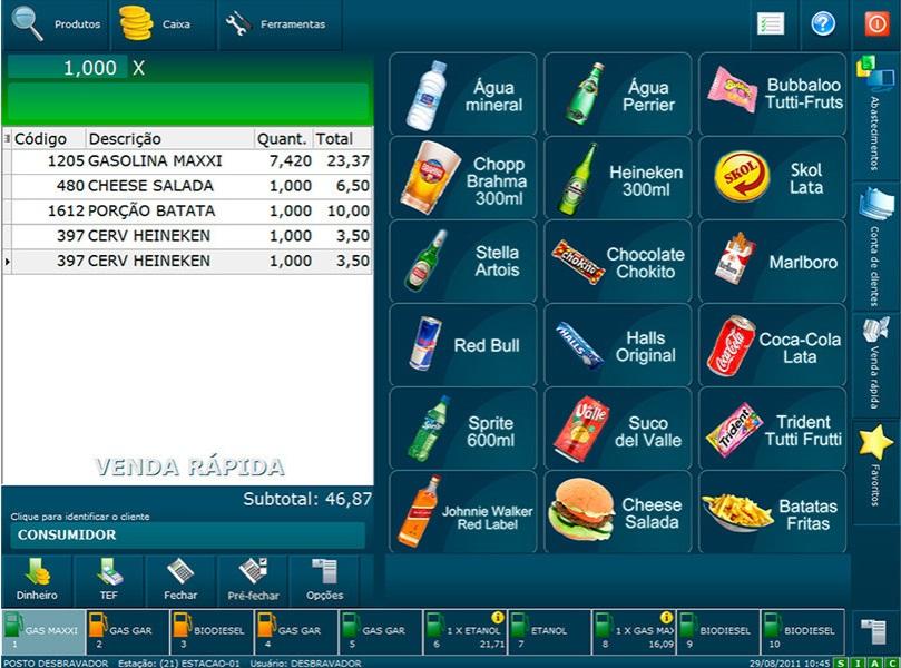 Software de gestão Loja de Conveniência 2